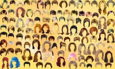 Фотошоп волосся глина - 09